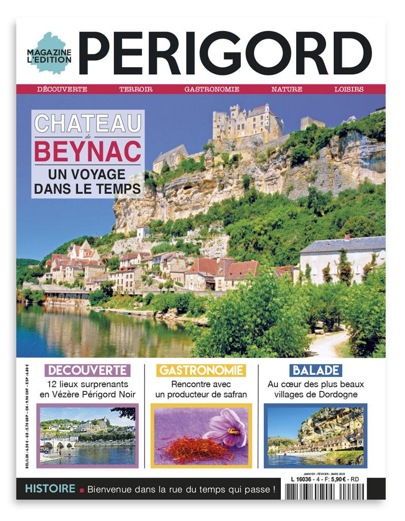 Magazine l'Edition Périgord janvier / février / mars 2019